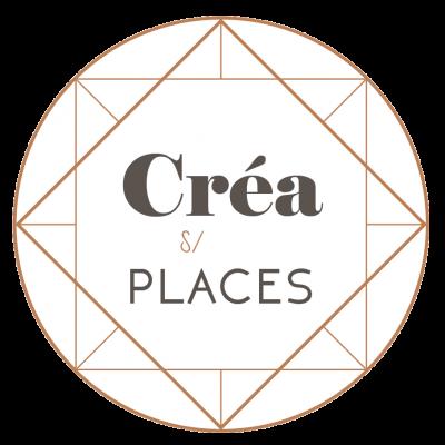 Logo crea sur places fond transparent