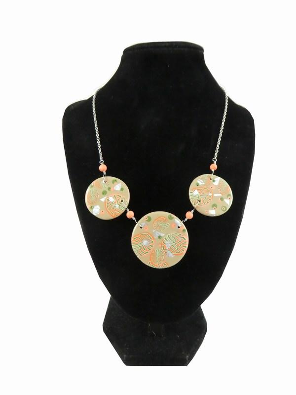 Jolissime collier corail rond 1 3